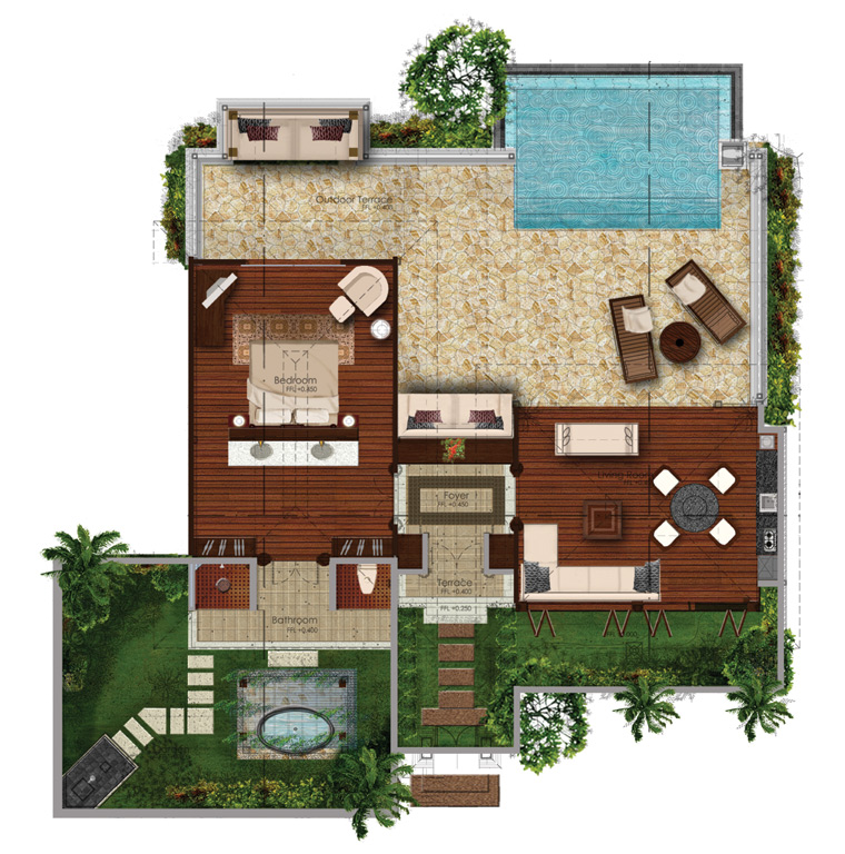 The Nature Sanctuary Eco Luxury Resort Residences